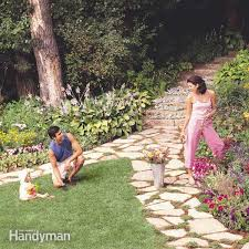 How To Build A Putting Green In My Backyard How To Build A Wooden Boardwalk Family Handyman