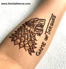 best game of thrones henna tattoo design mehndi henna tattoo art