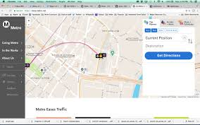 Metro Redline Map New Metro Website Is Up And Running The Source