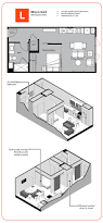 Micro Floor Plans by The Micro Unit Ktgy Architects