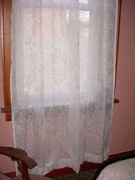 White Lace Valance Curtains Ivory White Lace Valance Curtain 11 Inch Seller Florasgarden