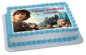 how to train your dragon 2 birthdaycakeorcupcake topper u2013 edible