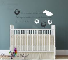 stickers muraux chambre fille ado sticker mural mouton chambre bébé www lesmurmursdangel fr