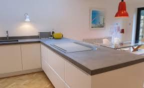 bespoke béton ciré concrete kitchen worktops modern home solutions