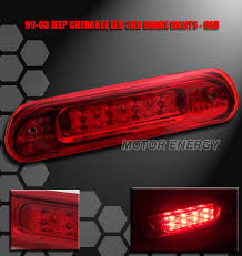 2001 jeep grand cherokee brake light 99 04 jeep grand cherokee led third 3rd brake light red laredo