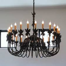 Wrought Iron Chandelier Uk Wrought Iron Lighting U0026 Chandeliers Mission Lighting Spanish