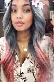 grey hair 2015 highlight ideas 22 unique colored hair combinations on black women that will blow