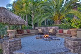 Backyard Patios With Fire Pits Fire Pit Inspiring Fire Pit Sand Patio Simple Garden Patio Fire