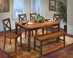 corner dining room furniture latitudes ginger chestnut new classic furniture