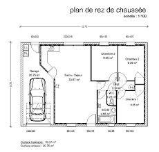plan maison 3 chambres plain pied garage plan maison plein pied gratuit 100m2 plain 7 construction 1