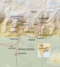 Himalayan Mountains Map Himalaya Reise Für Entdecker Indien Rundreise Von Tourasia