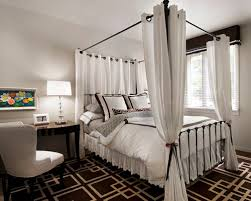 Curtains For Canopy Bed Frame Canopy Bed Curtains Houzz