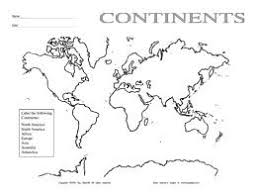9 best images of continents and oceans worksheets 2nd grade