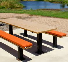 picnic table bench cushions table designs