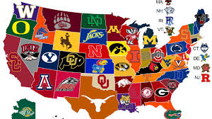 Where Is New Mexico On The Map by 25 Maps That Explain College Football Sbnation Com