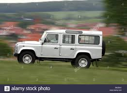 land rover silver land rover defender 110 td4 station se model year 2007 silver