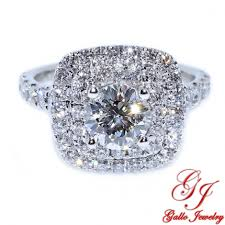 double engagement rings images Eng01237 double halo cushion shape diamond engagement ring center jpg
