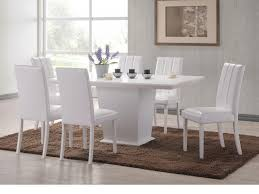 dining room beautiful white dining table set white table and