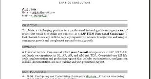 Sample Resume For Sap Mm Consultant Resume For Sap Mm Consultant