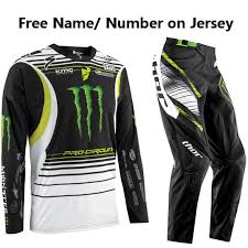 motocross pants and jersey combo pro circuit monster energy core jersey phase pants combo pro style mx