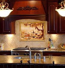 tile mural kitchen backsplash zyouhoukan net - Kitchen Tile Murals Backsplash