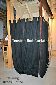 tension rod room divider de jong dream house uses for tension rods