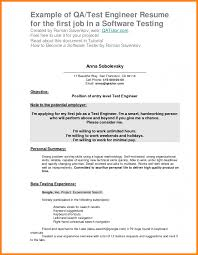 Sample Resume Objectives For Waiter by First Resume Objective Haadyaooverbayresort Com