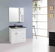 All Wood Vanity For Bathroom by White Wooden Floating Medicine Cabinet Built In Mirror Combined
