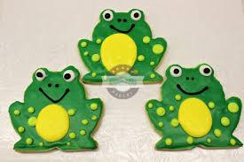 frog cookies cinotti u0027s bakery