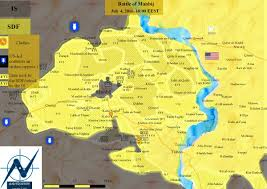 Syria On World Map by Military Situation In Manbij Syria On July 4