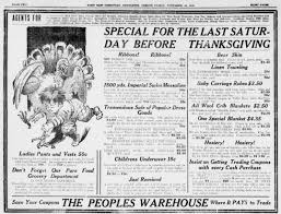 an fashioned thanksgiving