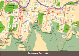 Maps For Maps Blue Mountains City Tourism