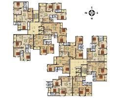 vajram essenza premium apartments typical plan