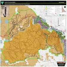 Colorado Hunting Units Map by Mcinnis Canyons National Conservation Area Mcnca Travel Map