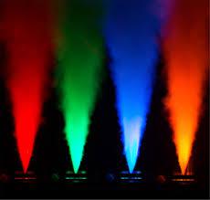 halloween fog machine chauvet vesuvio rgba dmx led light u0026 fog machine pssl