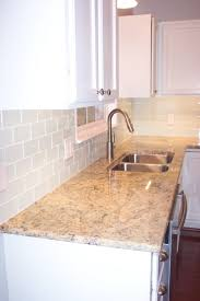 kitchen installing a new glass tile backsplash is great diy