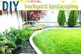 Backyard Ideas On A Budget by Landscaping On A Budget Simple Ideas Garden Design With Backyard