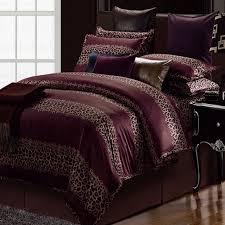 nightstand exquisite animal print bedroom wallpaper king