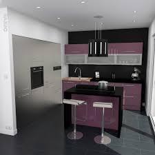 cuisine couleur aubergine cuisine moderne couleur aubergine galerie et cuisine couleur