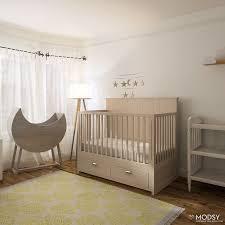 Cribs That Convert by Designing A Serene Gender Neutral Nursery