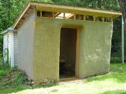 jana u0027s straw bale shed project actively learning sustainable