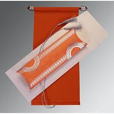 scroll invitations scroll wedding cards scroll invitations indianweddingcards