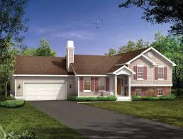 multi level homes split level house plans at eplans house design plans split level