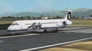 Alaska travel forums images Alaska airlines fsx uploaded super 80 dc 9 web forums jpg