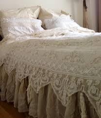 King Size Shabby Chic Bed by Bedding Set Ruffle Bedding Shabby Chic Wonderful Romantic