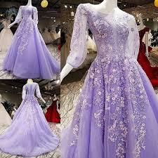 light purple long dress 2018 light purple prom dresses africa jewel lace applique corset a