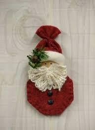 free images of primitive santa pattern santa ornament collection