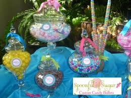 candy bar for baby shower baby shower candy buffet pink or blue candy table