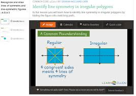 teaching 4 g a 3 u2013 recognize and draw lines of symmetry u0026 identify