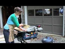 can you use a table saw as a jointer table saw tutorial youtube